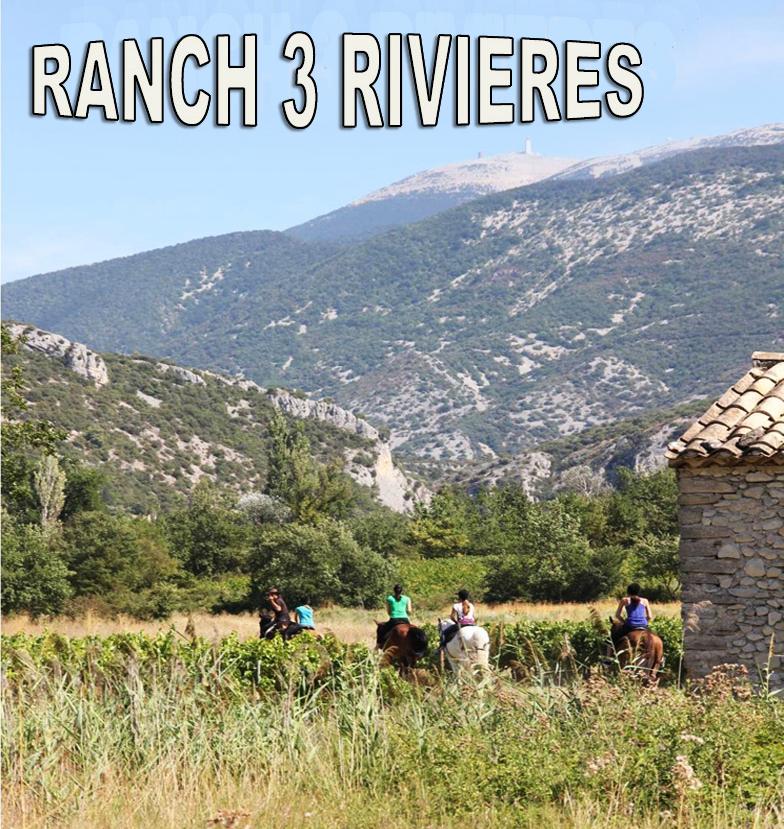 Ranch Vaucluse - Promenades à cheval entre Mont Ventoux, Vaison La Romaine, Buis les Baronnies et Malaucène